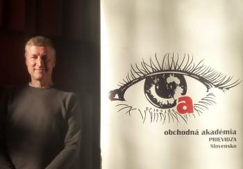 Slovenský Bill Gates - Miroslav Trnka besedoval so študentmi