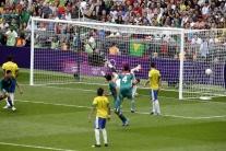 Momenty z finále medzi Brazíliou a Mexikom