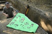 Archeológovia našli v trenčianskom lesoparku Brezi