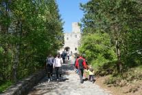 hrad, Strečno, návštevníci