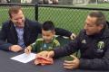 Portland podpísal jednodňovú zmluvu s 5-ročným brankárom