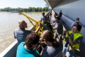 Hydrológovia ukázali, ako zmerajú, koľko vody pretečie v Dunaji