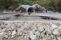 Výstavba tunela pod Tureckým vrchom