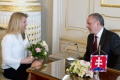 VIDEO: Prezident Kiska prijal dve Slovenky ocenené v zahraničí