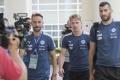 ZÁZNAM: Prílet slovenských futbalistov z Francúzska