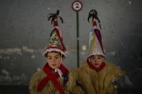 Roztomilé karnevalové postavičky
