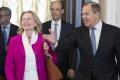 Rakúska ministerka zahraničných vecí rokovala v Moskve