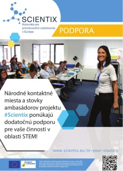 SCIENTIX pre učiteľov STEM predmetov