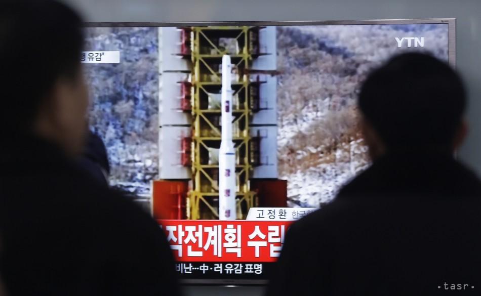 Rezort zahraničia: Vypustenie rakety je ďalšou hrubou provokáciou KĽDR