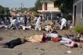 Samovražedné atentáty na predmestiach Bagdadu si vyžiadali 17 obetí