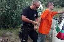 PÁTRANIE UKONČENÉ: VIDEO: Väzňa na úteku chytili po pár hodinách
