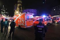 Berlín, útok, záchranári, obete