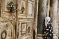 Procesia ulicami Jeruzalema sa v Kvetnú nedeľu pre koronavírus nekonal