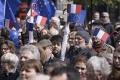 Tisíce ľudí v deň francúzskych volieb demonštrovali za jednotnú Európu