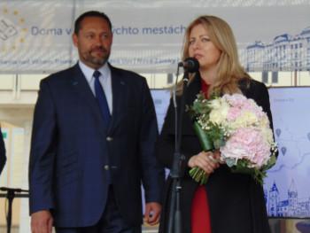 Zuzana Čaputová navštívila Nové Zámky