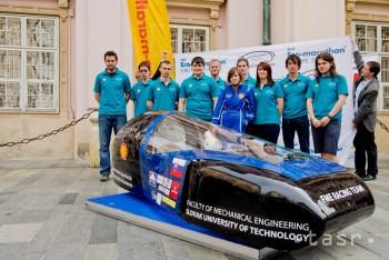 Študenti budú v Rotterdame súťažiť s modelom úsporného vozidla