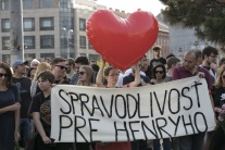 Spravodlivosť pre Henryho  zhromaždenie Bratislava