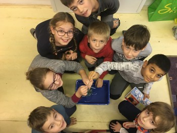 Pokusy a experimenty malých výskumníkov v Klube nadaných detí