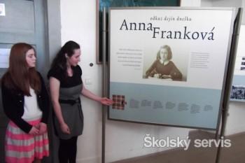 Anna Franková - odkaz dejín dnešku