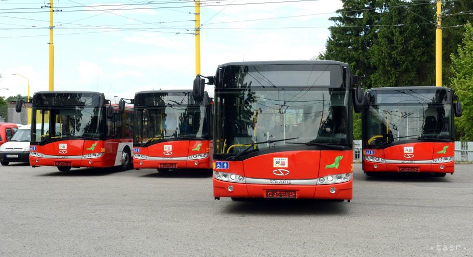 175b233ce Dopravný podnik mesta Prešov chce kúpiť šesť nových autobusov