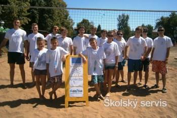 Mladí volejbalisti si zmerali sily v Sobranciach