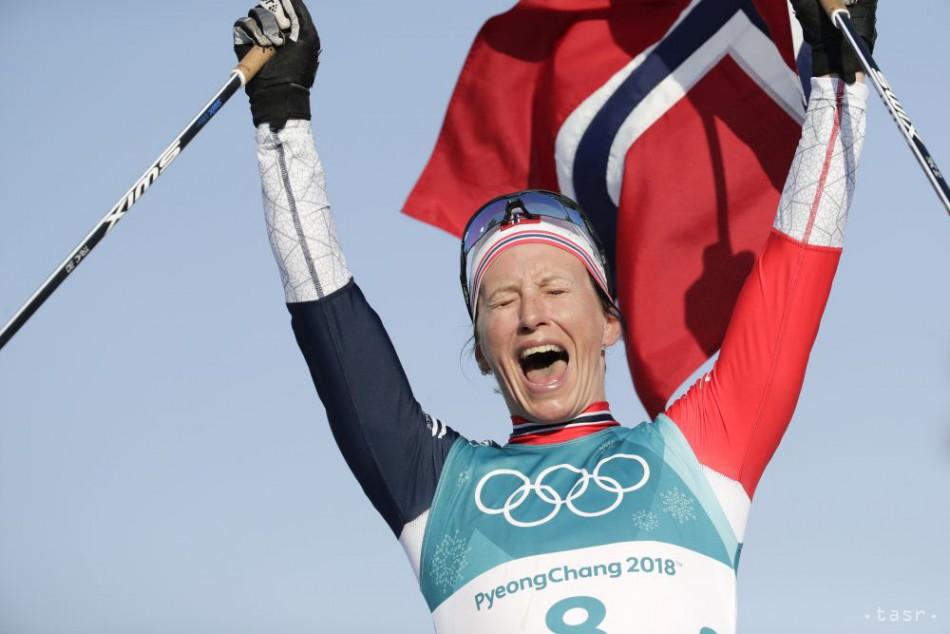 559435518 Nórska bežkyňa na lyžiach Björgenová ukončila kariéru