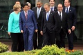 G7 chce podporiť hospodársky rast, lídri pohrozili Rusku sankciami