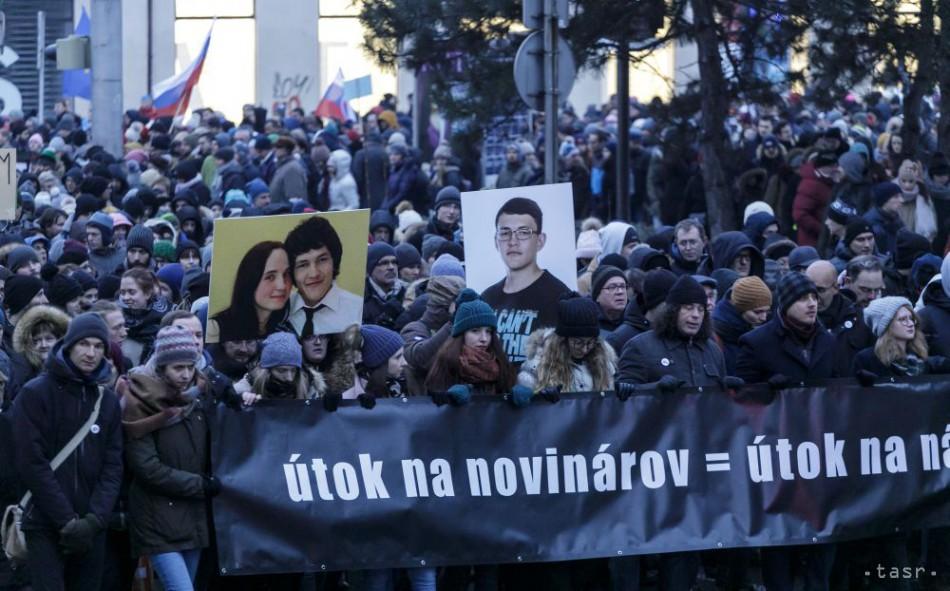 VIDEO  V SR i vo svete sa uskutočnili pochody za Kuciaka a Kušnírovú fd65896affe