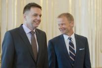 Vymenovanie Vazila Hudáka za ministra hospodárstva