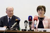 Tlačová konferencia Ústrednej komisie pre referend