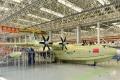 Čína dokončila výrobu najväčšieho obojživelného lietadla na svete