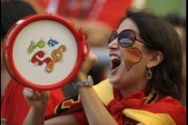 Fanúšikovia Španielska