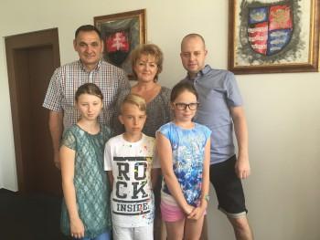 Deti predstavili prešovskému županovi aktivity Rozumieme nadaným
