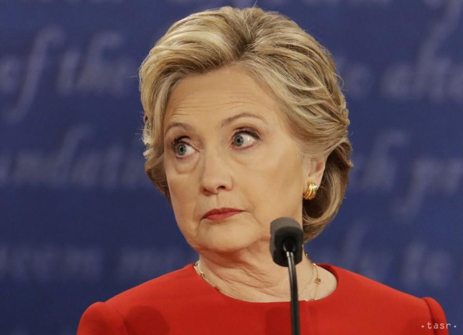 PRIESKUM NBC News: V prvej debate podľa voličov zvíťazila Clintonová
