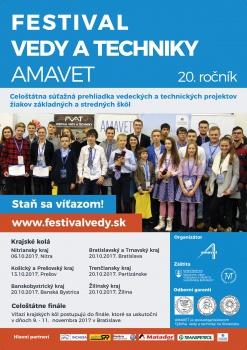 Festival vedy a techniky AMAVET - živná pôda na objavovanie talentov