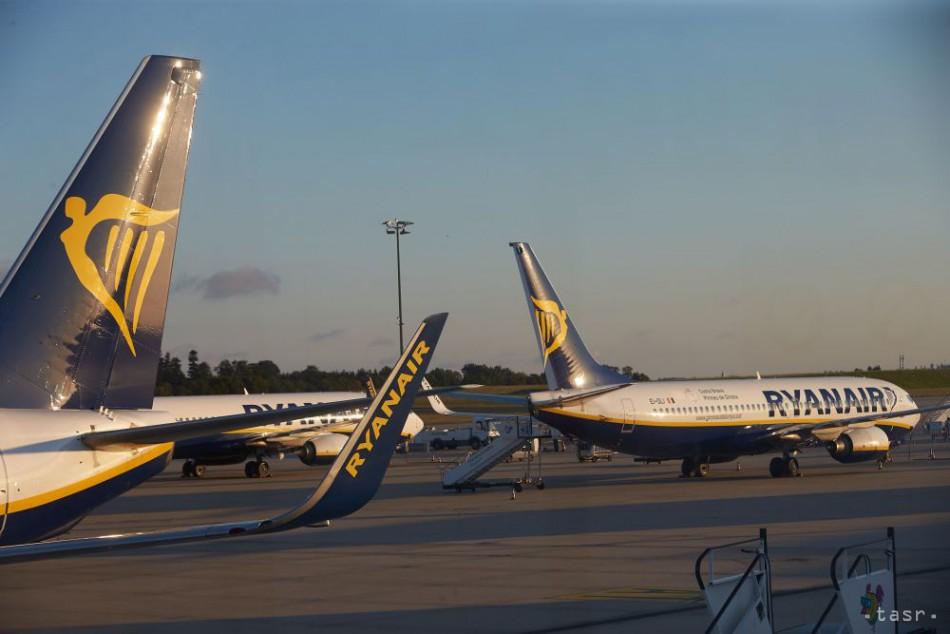 fcf85de3b8477 Írske aerolínie Ryanair vykázali v 3. kvartáli stratu 20 mil. eur