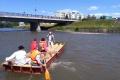 Odpad z okolia Hrona odvážali aj plte a člny, pomáhali i dobrovoľníci