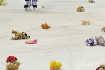 POPRAD: Ľad na zimnom štadióne zasypú po prvom góle plyšové hračky