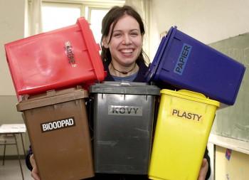 Školáci sa zapojili do projektu, učia sa správne triediť odpad