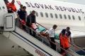 FOTO: Zo Srbska priviezli posledné dve zranené po nehode autobusu