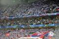 Slovenskí fanúšikovia sú v Lille opäť v menšine, vidia to na penalty