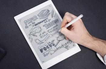 Tablet s čiernobielym displejom chce nahradiť papier