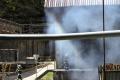 V Harmanci vypukol požiar, horela skladová hala