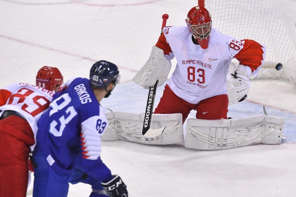 e1080ee4e FOTO: OLYMPIJSKÝ ZÁZRAK: Slovenskí hokejisti dali na frak OŠ Ruska