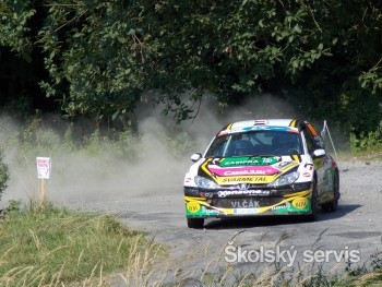 Najrýchlejším jazdcom Barum Czech Rally Zlín je Kopecký