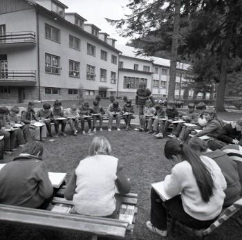 Po stopách minulosti: Škola prírody  A. Sládkoviča Hranovnické Pleso