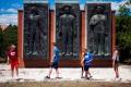 Budapeštianske sochy z komunistickej éry vystavujú v Memento parku