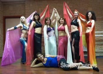 Stopy egyptských tanečníc nájdete aj v Martine