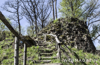 Jelšavský starý hrad ponúka históriu, túru i výhľady