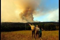 Lesný požiar v Španielsku